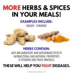 Use More Herbs & Spices