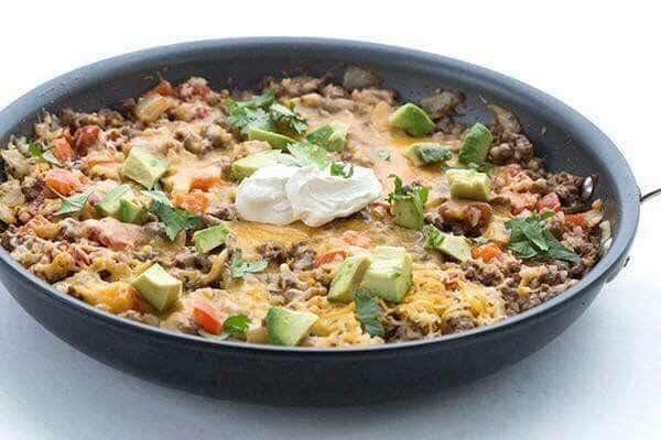 Recipe: Mexican Cauliflower Rice Skillet