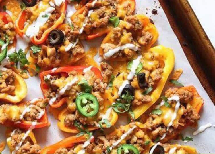 Recipe: Mini Pepper Nachos