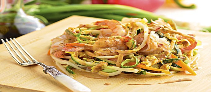 Recipe: Pad Thai Zucchini Noodles
