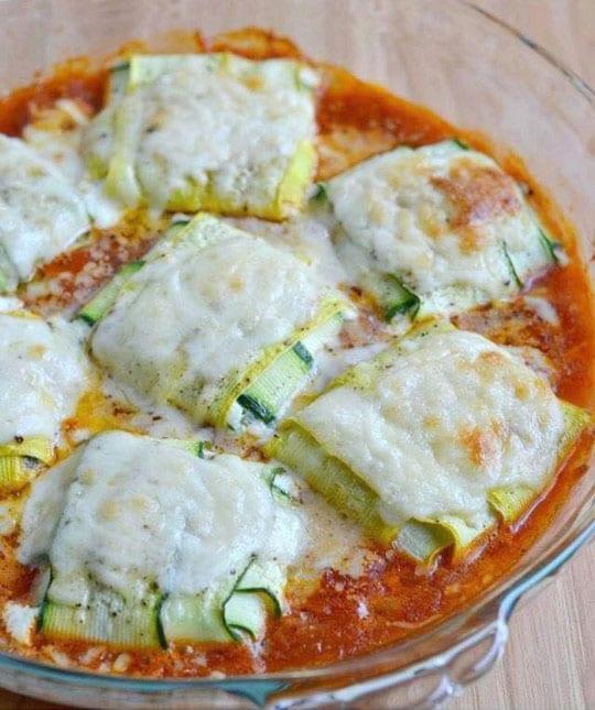 Recipe: Zucchini Ravioli