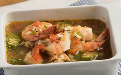 Chicken and Shrimp Gumbo