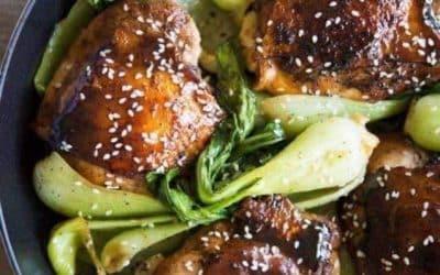 Ginger Chicken & Bok Choy