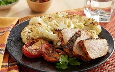 Peri-Peri Pork & Cauliflower Steak