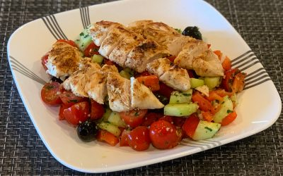 Greek Lemon Chicken Salad